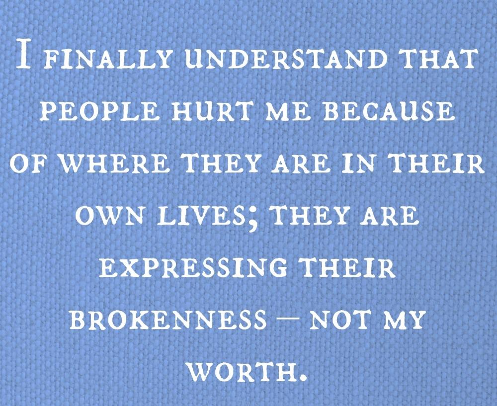 brokenness