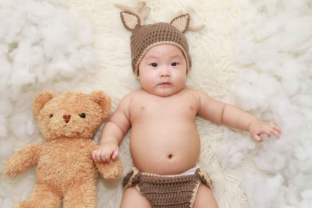 adorable baby beanie bonnet